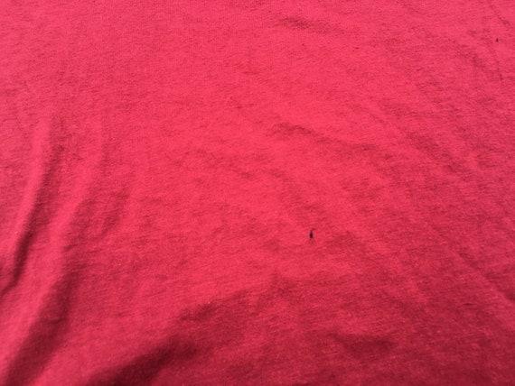 80s Maroon Harvard Microbial Ecology T-Shirt, Med… - image 7