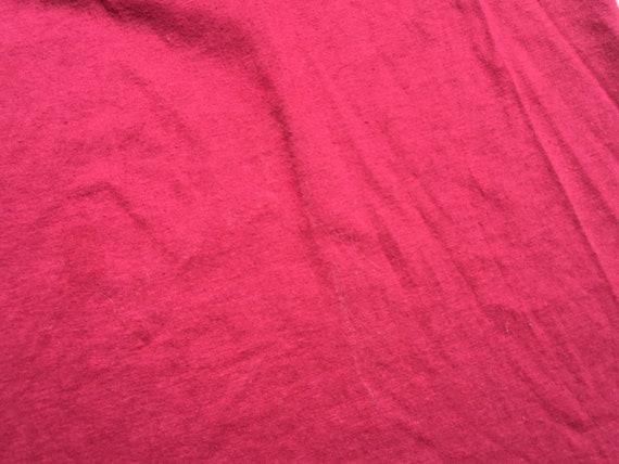 80s Maroon Harvard Microbial Ecology T-Shirt, Med… - image 3