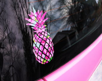 Pineapple Decal | The Pineapple Decal | Multiple Colors | Perfect for your Car, Laptop, Snowboard, and More!