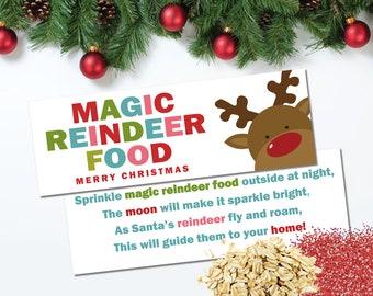 Magic Reindeer Food Etsy