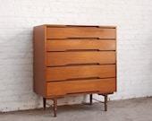 Mid Century Highboy Dresser