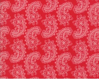 Spellbound by Urban Chiks for Moda in Scarlet Paisley