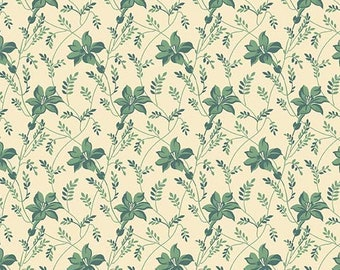 Sequoia,  8753-LT, Touch of Blue Buds and Vines by Edyta Sitar for Andover