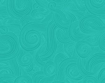 Just Color! by Studio e fabrics, Teal 1351