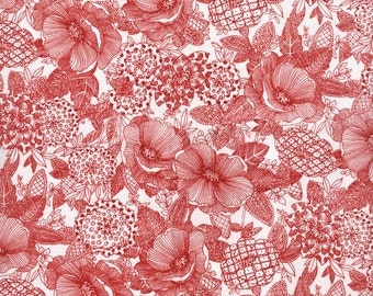 Jolene 0427 8 Red by Blank Quilting