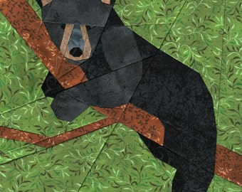 Bear Cub - Paper Piecing