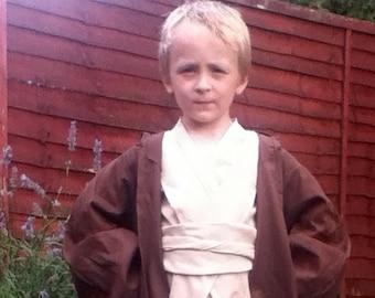 Obi Wan Kenobi Robe - Handmade In Any Size Kids - Jedi robes - Star Wars inspired Costumes and cosplay - worldwide shipping