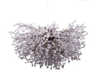 Gray Chandeliers Lighting The Home Depot