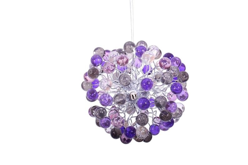 Plafoniere Per Cameretta Bambini : Luce plafoniera il colore di tonalità viola bolle per camera etsy
