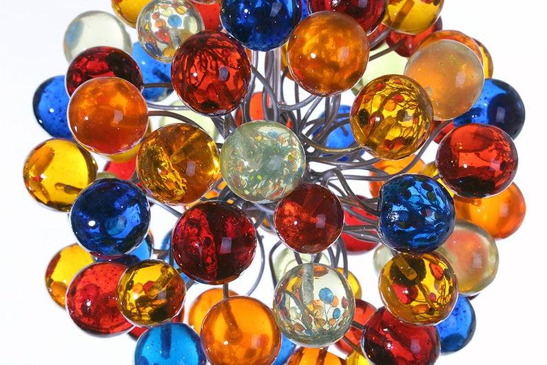 bathroom Pendant light kitchen island lighting Rainbow color bubbles light  for hall or as a bedside Lighting unique pendant lights .
