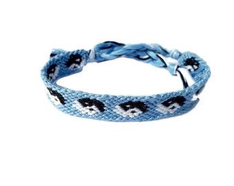 Ying Yang Friendship bracelet, string friendship, gift for friends, friendship gift, gift for him, gift for her, woven bracelet