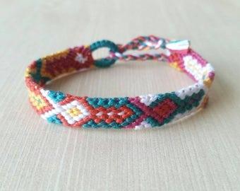 Boho bracelet, tribal friendship bracelet, bohemian bracelet, friendship gift, string bracelets, friendship bracelets, best friend gift