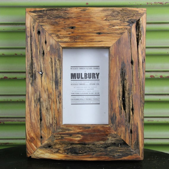 """Rustic//driftwood style,frames.Recycled wood POST 8x6/"""" and 6x6/"""" FREE U.K 7x5/"""""""