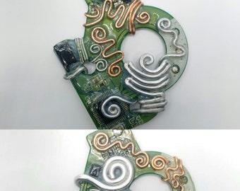 Various CD ROM Circuit Board Pendants
