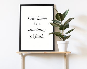 Home Themed Prints