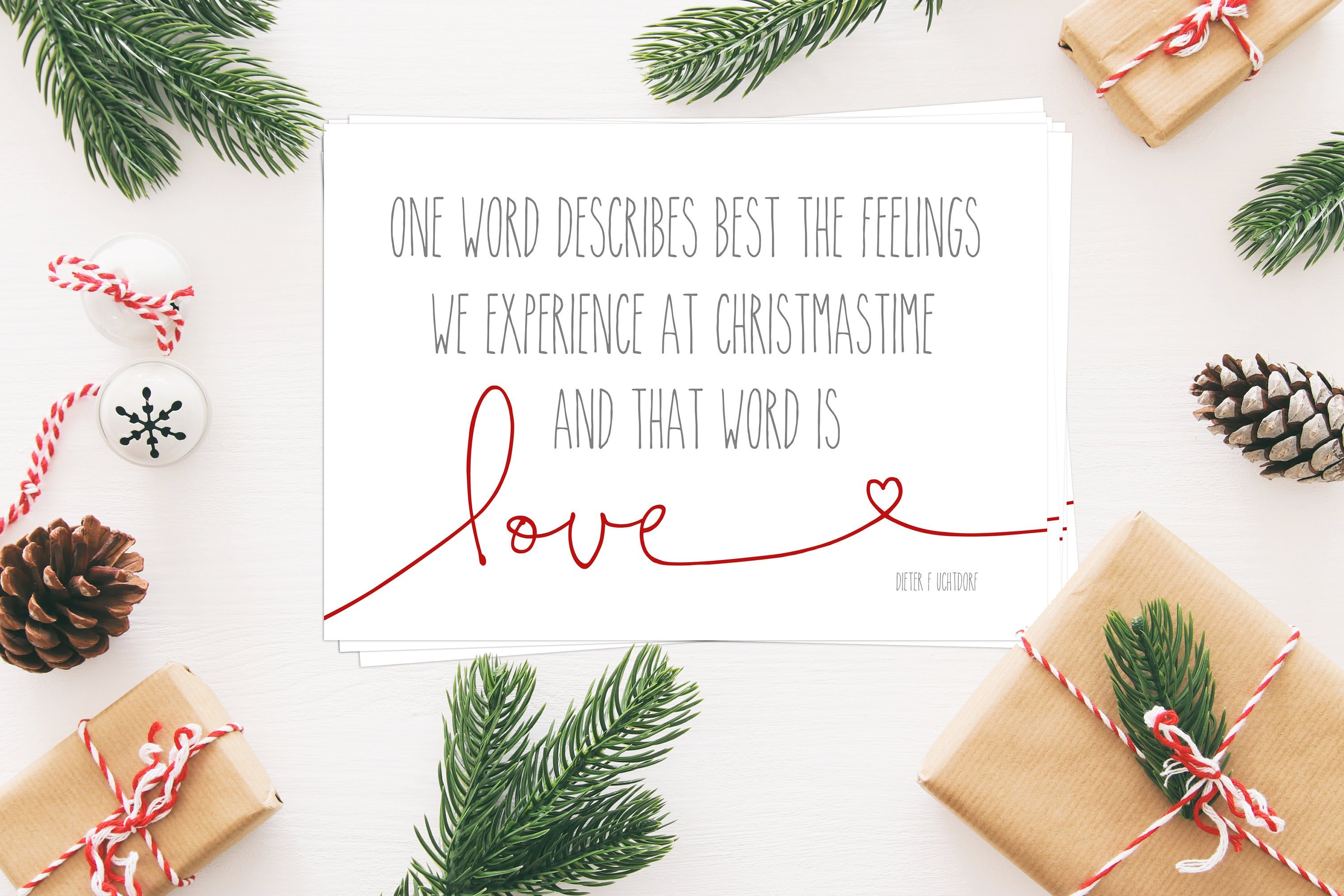 Teacher Gifts For Christmas.Christmas Is Love Bulk Quantity 10 5x7 S Perfect For