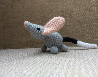 Bunty Bilby - Crocheted Amigurumi Australian Animal