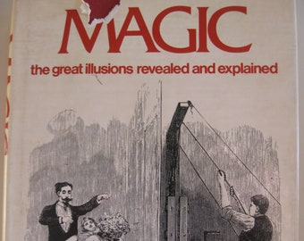 Magic:  The Great Illusions Revealed and Explained by David H. Charney - Hardcover 1976