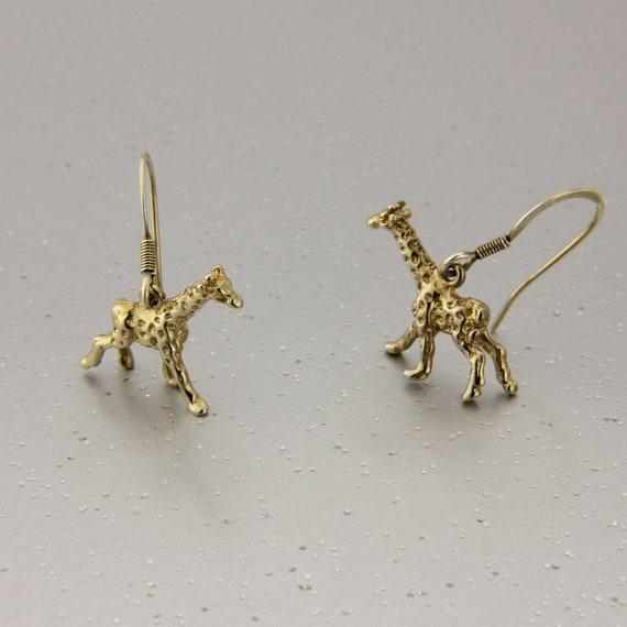 Giraffe earrings