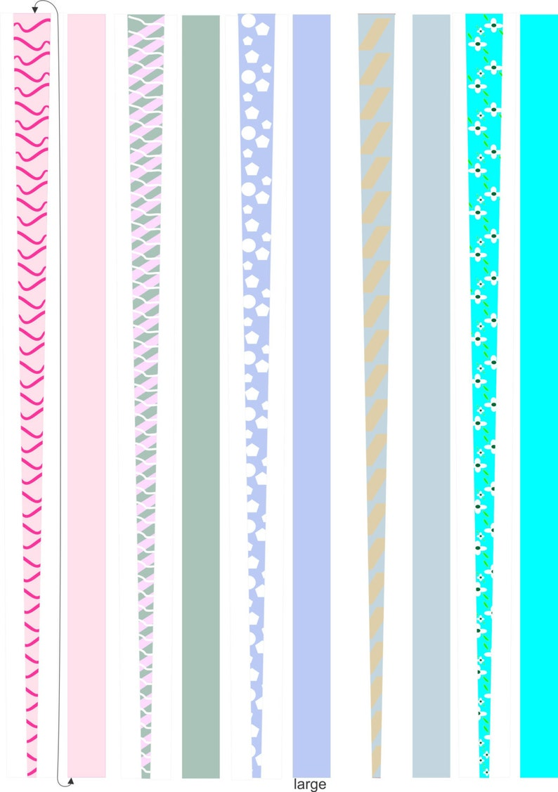 graphic relating to Printable Paper Bead Templates known as Paper Bead Templates, For developing Paper Beads, 5 web pages, Printable Paper Beads, Do-it-yourself, Beads,