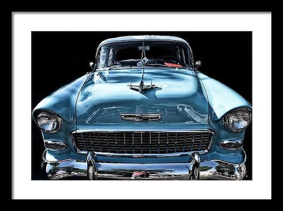 Classic Car Transportation MULTI CANVAS WALL ART Picture Print VA
