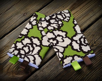Chew Pads // Ergo Beco Tula Boba Lillebaby and MORE // Brown Lime Floral