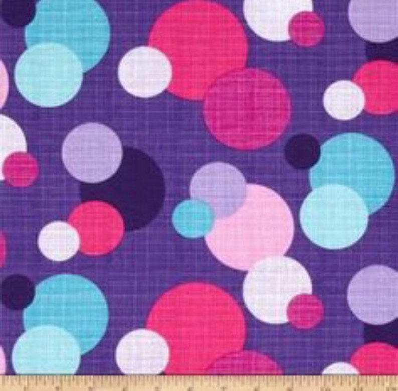 57fd513d907 Polka Dots on Purple Drool Pads    Beco Ergo Bjorn Boba