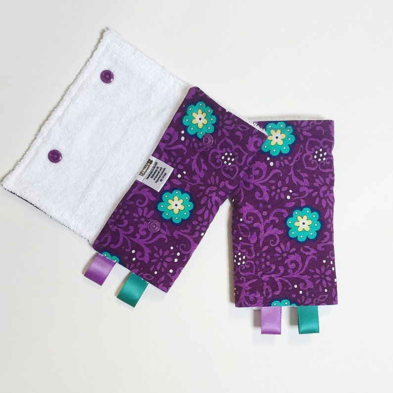 a489bb22adf Drool Pads teal purple lillebaby Beco Ergo Bjorn Boba and