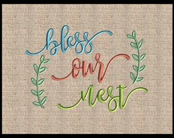 Tea towel embroidery   Etsy