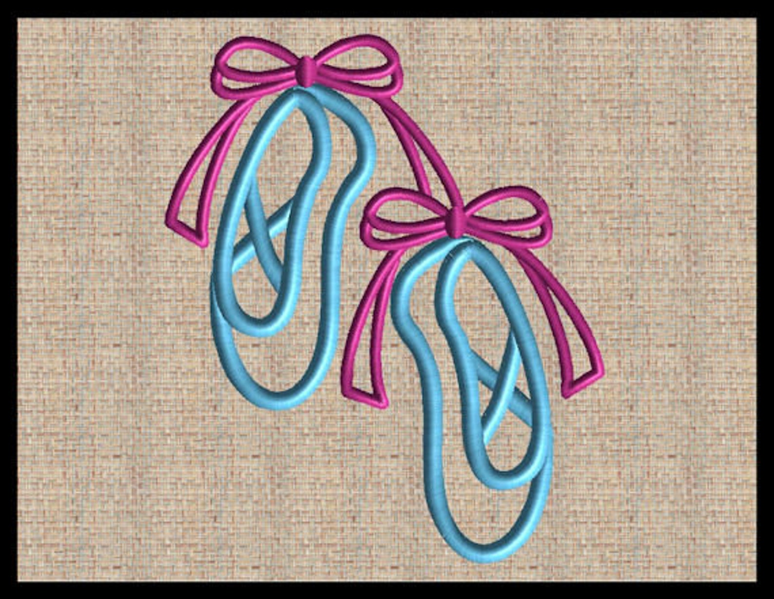 ballet shoes embroidery design ballerina slippers machine embroidery dance shoe with bows embroidery design 4 sizes 4x4 5x5 6x6