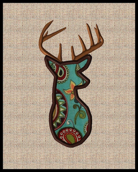 Browning Deer Head Embroidery Design Wwwpicswecom