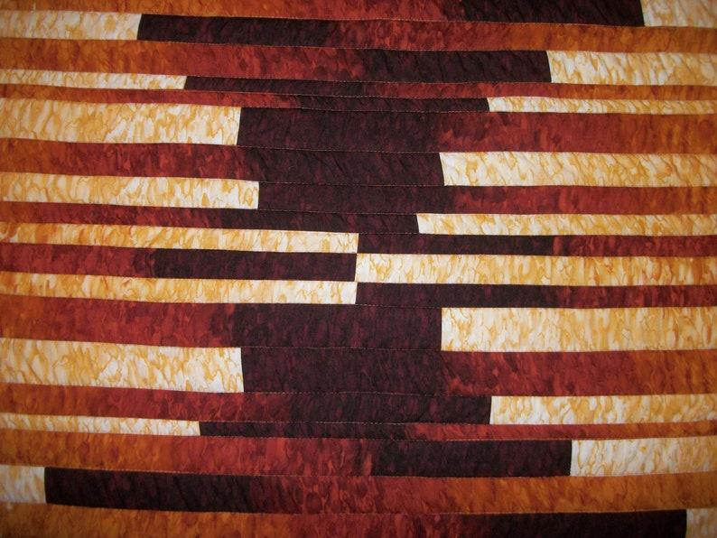 Fiber Wall Art Original OOAK Art Quilt Textile Art 40x40 Wall Hanging Quilt Art Throw Quilt Fibre Art