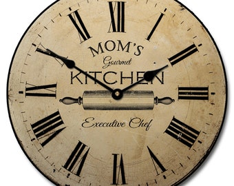 Gourmet Kitchen Clock