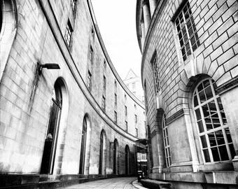 Library Walk (2016). Fine art photography Manchester city centre