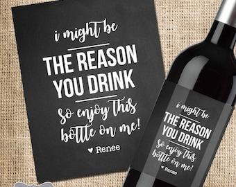 bosses day gift boss gift bosses day wine label boss christmas gift bosses day gifts for her bosses day gifts for him christmas gift