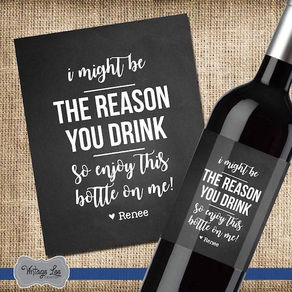 Bosses Day Gift Boss Gift Bosses Day Wine Label Boss | Etsy