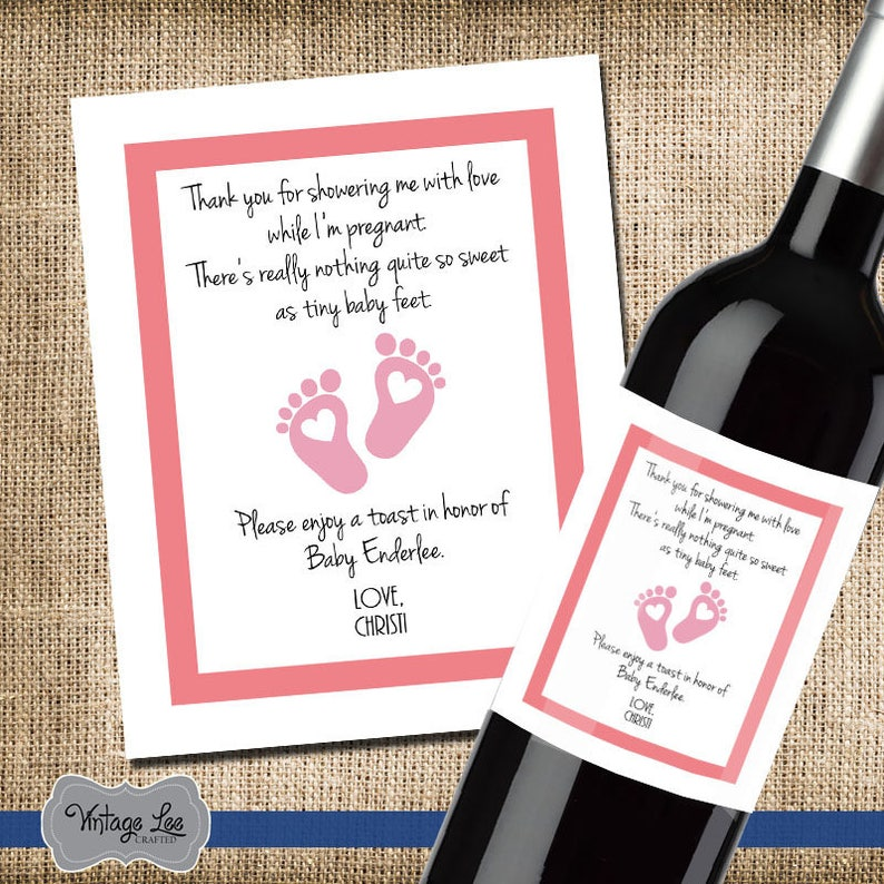Shower Hostess Gift Baby Shower Thank You Gift For Hosting Etsy