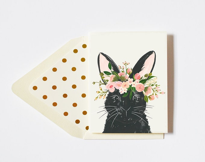 Sweet Rabbit Card by The First Snow