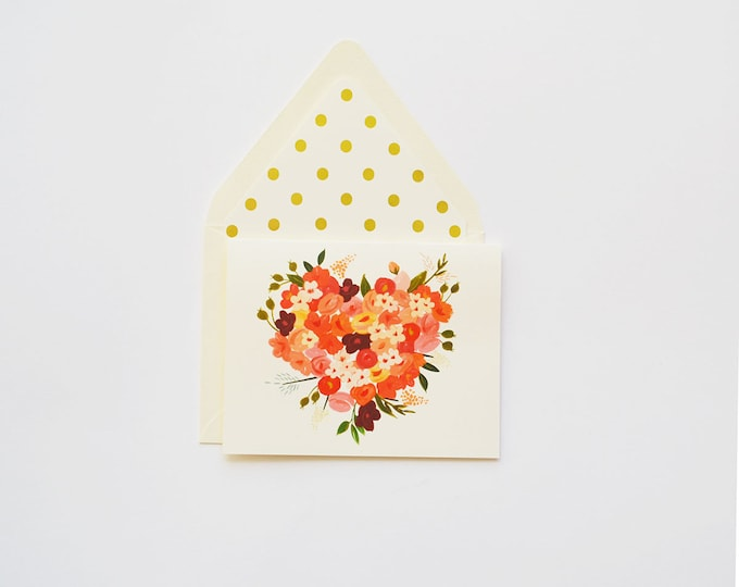 Floral Heart Bright