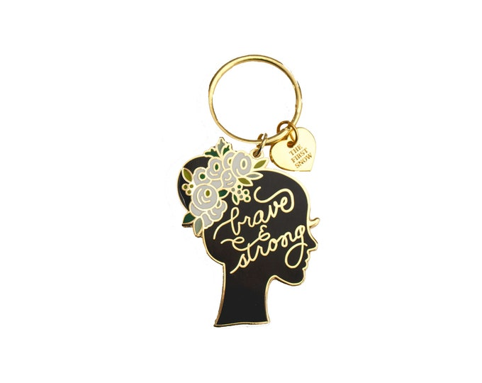 Brave & Strong Key Chain
