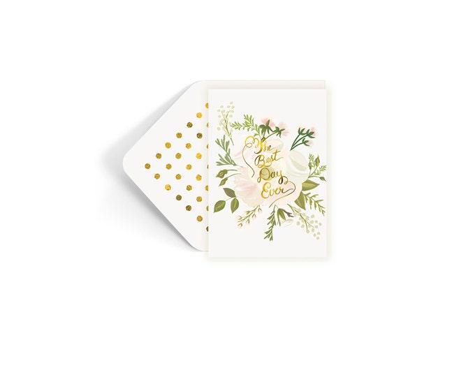 The Best Day Ever Wedding Card