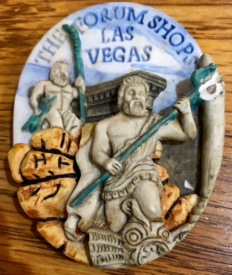 Two Casear/'s Palace Hotel Forum Shops Las Vegas Kitchen Refrigerator Magnets