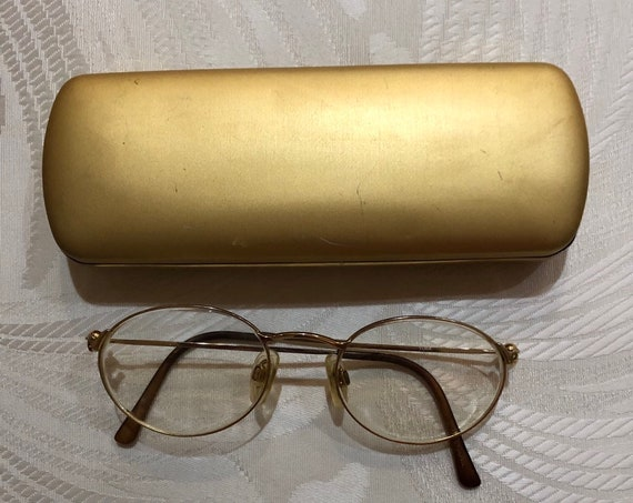 f15550c251a Vintage Ladies Tura Turalite Gold round prescription