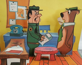 Yogi Bear Pop Up Book 1974