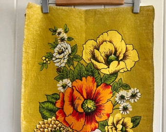 Vintage Tea Towel Pure Linen made in Poland