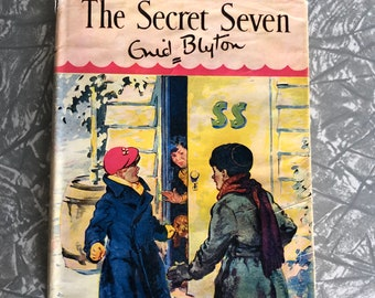 Vintage Enid Blyton The Secret Seven 1957