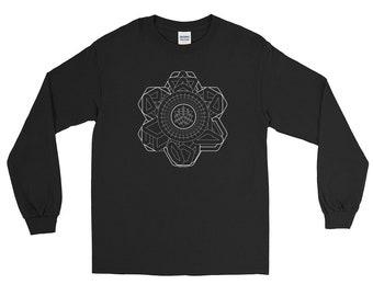 Multiverse , Long Sleeve , unisex , sacred geometry , sacred , festival clothing ,nature , geometry , aya , tribal, 420 ,boho ,steam punk