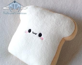 Small Toast Toastie plush - Handmade