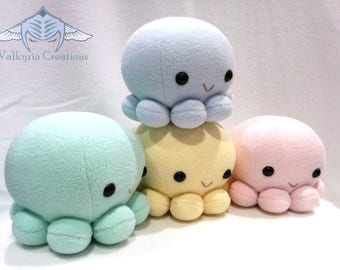 Plush Octopus - Handmade