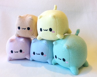 Cat Loaf Cube Plush toy